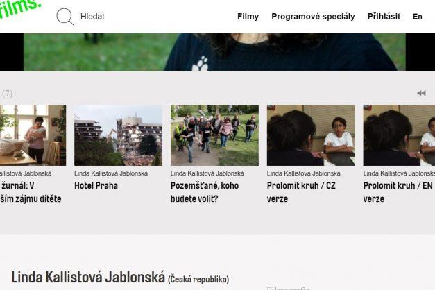 Linda Kallistová Jablonská: Film by měl mít pro společnost přínos